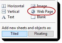 Add Web Page